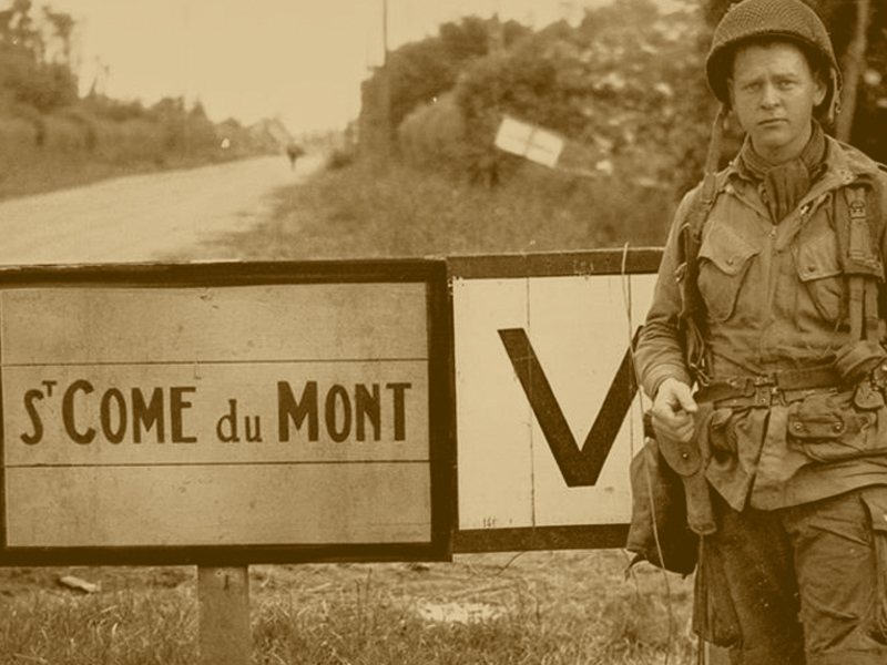 D-Day Signs